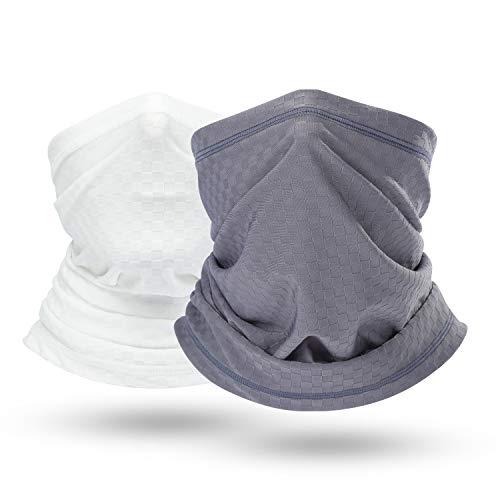 (BINMEFVN Summer Bandana Face Mask -Dust Sun UV Protection Neck Gaiter - for Outdoor Hiking & Motorcycling & Cycling)