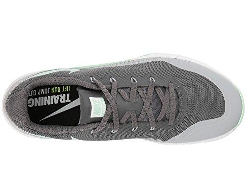 Nike Womens Metcon Repper Dsx Cross Trainer Grigio Scuro Verde 003