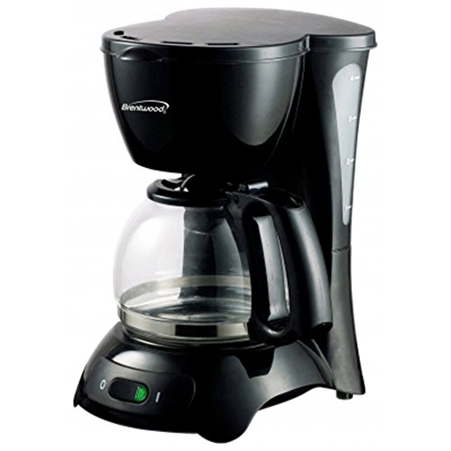 Brentwood TS-214 Coffee Maker 4-Cup Black Home & Garden