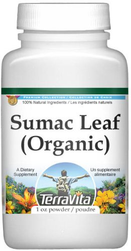 Sumac Berry (Organic) Powder (1 oz, ZIN: 516468) - 3 Pack by TerraVita