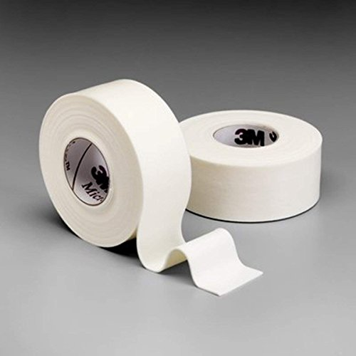 3M Microfoam Surgical Tape 1 inch x 5-1/2 yard (stretched) (2,5cm x 5m (stretched)) Elastic foam, hypoallergenic surgical tape Model #1528-1