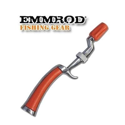 Emmrod (ORANGE)Packer Fishing Pole Rod Handle Only by Emmrod