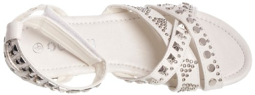 Odeon Women's Lisa Ankle Wrap White fmbflqIq