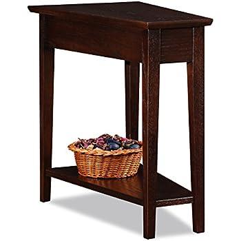 Amazon Com Leick Delton Recliner Wedge End Table Kitchen