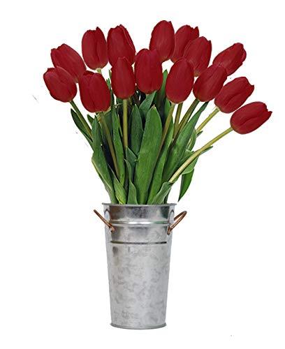 Stargazer Barn Petite Jingle Bell Bouquet With Vase, 15 - Flower Bell Tulip