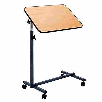 fabacare - Mesa auxiliar, nova, höhenverstellbarer cama mesa sobre ruedas, mesa para cama con inclinación: Amazon.es: Salud y cuidado personal