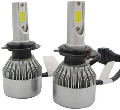 Super Mini H7 Car COB LED Headlight Bulbs Replace HID Xenon 110W 20000LM 6000K