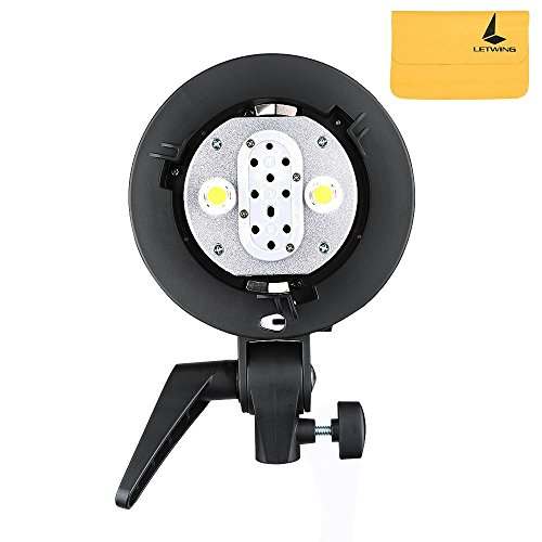 GODOX AD-B2 Bowens Mount Dual Power Flash Head S-type Bracket Double Lamp Holder For AD200 TTL Flash Light Speedlite by Godox