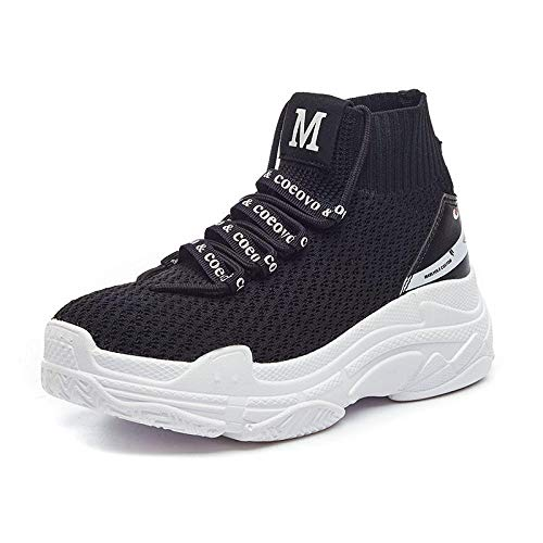 Calcetines Tie Running Jock de Zapatos Sports Shoes y negro Ups Net Couples Sports Paño Teenage Lucdespo y qOwvvX