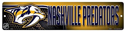 Rico HSN9601 Plastic Street Sign , Nashville Predators