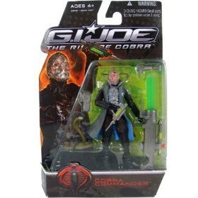 Hasbro GI Joe The Rise of Cobra Cobra Commander Action Figure (Gi Joe Rise Of Cobra Cobra Commander)