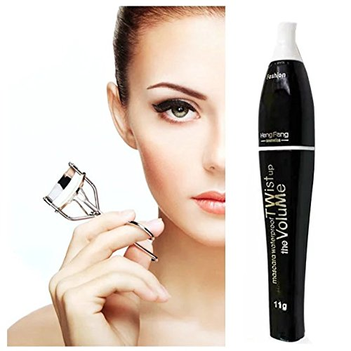 Brendacosmetic Waterproof Colorful Curling Eyelash Mascara,Washable Charming Cosmetic Curl Eyelash Mascara for Eye (Cheap Coloured Contact Lenses)