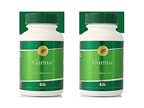 4life Gurmar with Curbs sugar appetite 90 capsules each (pack of 2)