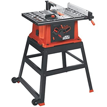 Black & Decker BDTS200 15-Amp Table Saw with Stand and