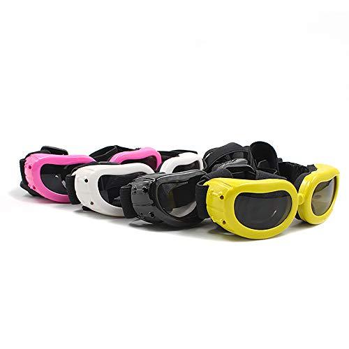 Clluzu Cat Glasses Pet Supplies Dog Sunglasses Summer UV Protection Elastic Adjustment Comfort Sponge Stoma Ventilation 4PCS