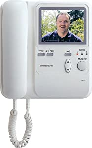 Aiphone KB-3HRD Audio/Video Sub-Master Station with Handset and Tilt Camera Control for KB Series Intercom System from AIPHONE COMMUNICATIONS