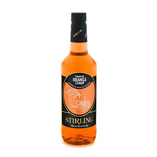 Stirling Curacao Orange Syrup - Orange Liqueur Curacao