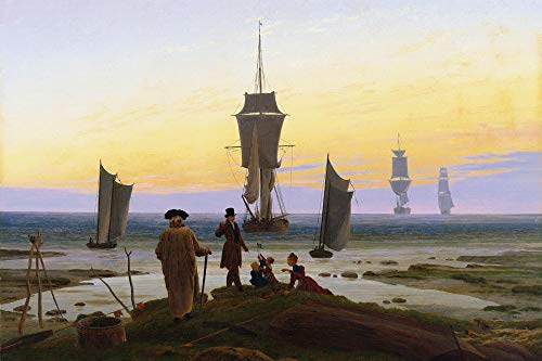 1art1 Caspar David Friedrich XXL Poster - The Stages of Life, 1835 (47 x 32 inches) from 1art1