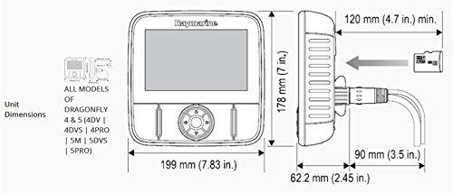Raymarine Dragonfly 5 Pro Navionics+ Dual Channel Sonar/GPS by Raymarine (Image #2)
