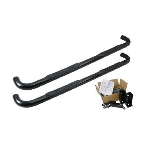 1120223943 Trail FX Black Nerf Step Bars Dodge Ram Quad Cab Trailfx
