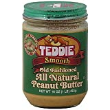 Teddie All Natural Old Fashion Smooth Peanut Butter  (Pack of 3)