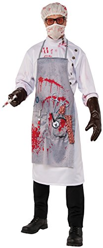 Rubie's Men's MAD Scientist Costume, As Shown, X-Large