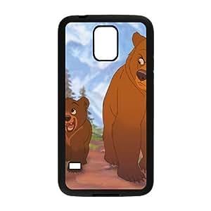 samsung_galaxy_s5 phone case Black Brother Bear BFS8469783