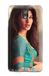 3751369K13609872 Rugged Skin Case Cover For Galaxy Note 3- Eco-friendly Packaging(actress Jacqueline Fernandez)