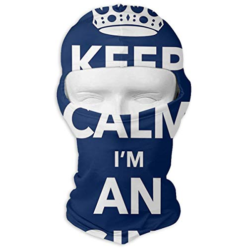 Calm Im an Engineer Balaclava - Windproof Ski Mask - Motorcycle Full Face UV Protection Mask ()