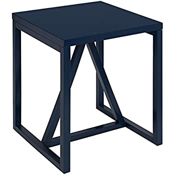 Amazon Com Kate And Laurel Kaya Square Wood Side Table