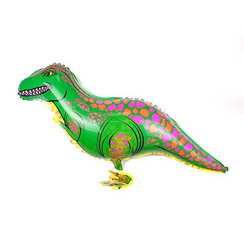 Walking Green Dinosaur Balloons Animal Helium Birthday Kids Party Toy US9 N@N