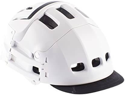 Visière Amovible utilisable sur Casque Pliable Plixi pour vélo, Trottinette électrique, Overboard, gyroroue, gyropode, Skateboard, Roller, VAE. Apporte Touche de Style. Taille Unique