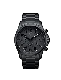 Luminox Xl.1942.bob Men's Day Date Chronograph Bracelet Band Black Watch