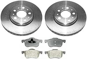 High-End 5lug Rear Kit Fits: 850 V70 S70 2 Brake Rotors 4 Ceramic Pads