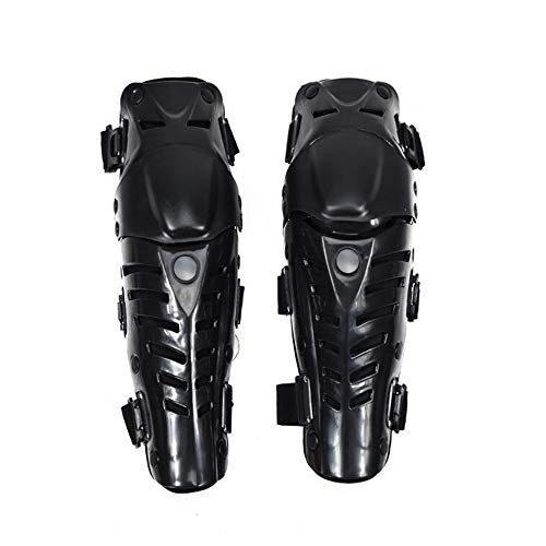 Softball Women's Shin Guards, Catcher Box Set Gear, Knee Support Height Wear Resistant Mixed Material, One Size Black, As Elbow and Knee
