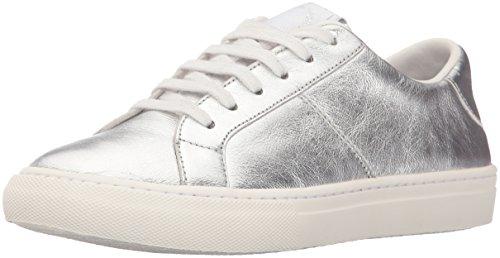 Marc Jacobs Women's Empire Low Top Fashion Sneaker, Silver, 40 EU/10 M US