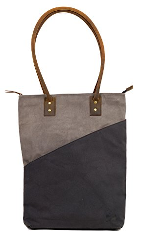 the JOPLIN TALL TOTE by FAT FELT (Cloud) by FAT FELT