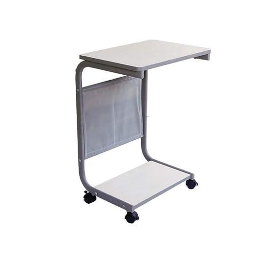 Folding table ZZHF - Mesa Multiusos con 4 Ruedas: Amazon.es: Hogar