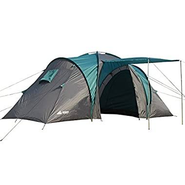 Semoo Waterproof 2000mm 4-Person Camping Tent with Carry Bag, Blue
