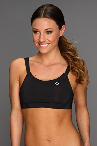 Moving Comfort Women's Jubralee Bra, Black, 40D Moving Comfort Running Bras