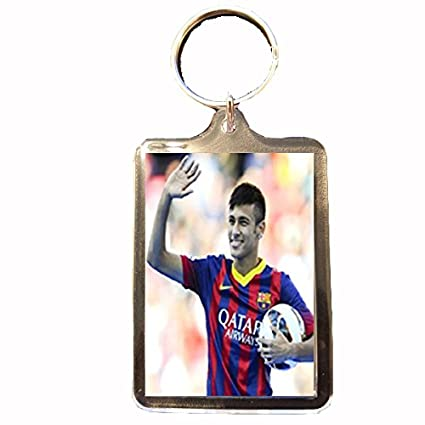Amazon.com : Footie Gifts F.C Barcelona - Keyring (NEYMAR ...
