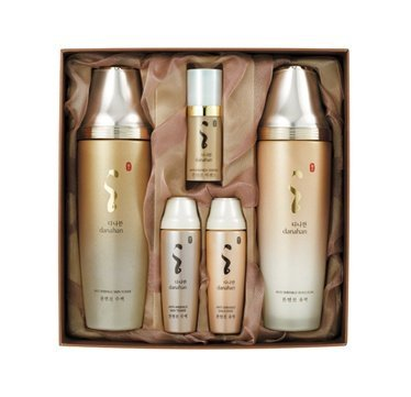 KOREAN COSMETICS, Danahan, Anti-wrinkle 2-piece set (fluids 160ml +emulsion 160ml) (Moisturizing, high-nutrition, herbal skin lotion set)[001KR]