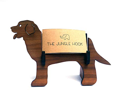 Dog business card holder ()