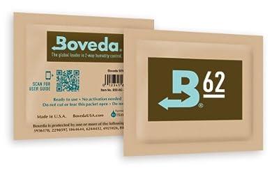 Boveda Micro Humidipak 4g, 62% 36 Pack