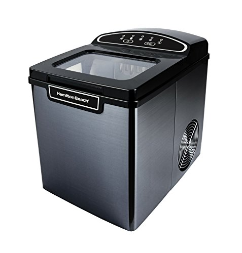 Hamilton Beach PIM-2-3A Portable Ice Maker, 26 lb. Capacity,...