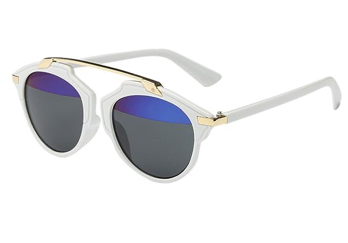 Unisex Retro Vintage Gafas de Sol - Gafas de Sol para Hombre ...