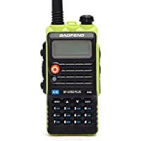 BaoFeng BF-UVB2 Plus High Power 8-Watt Walkie Talkies Long Range Dual Band VHF/UHF Amateur (Ham) Portable Two-Way Radios Rechargeable,W/additional USB Cable Directly Charge on Battery