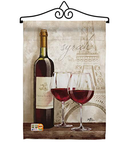 - Breeze Decor GS117051-BO-02 Wine in Paris Happy Hour & Drinks Impressions Decorative Vertical 13