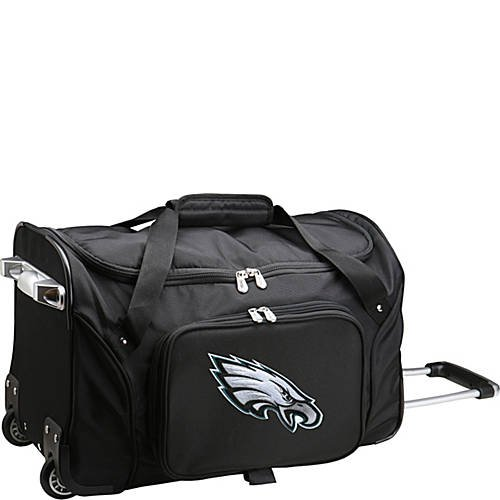 NFL 22'' Rolling Duffel Philadelphia Eagles by TableTop King