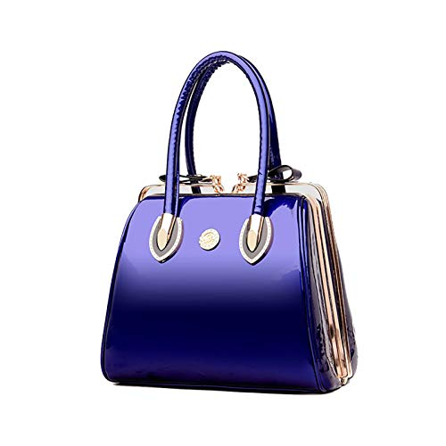 Scatola Blu mano superiore Donna a Borgogna Coolives Borse Manico 4CqHdZ